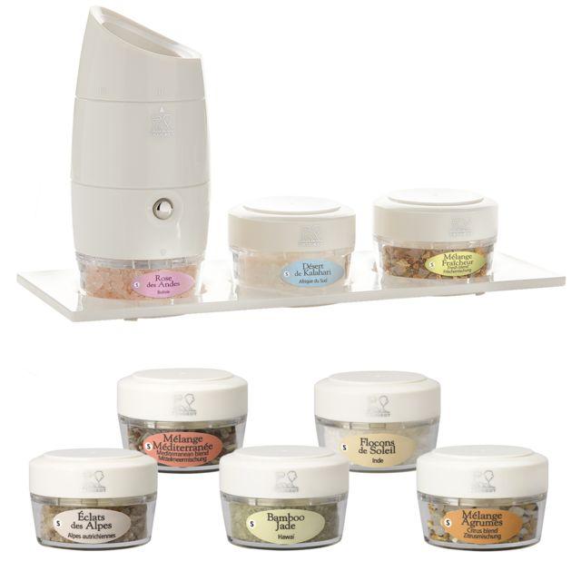 PEUGEOT moulin manuel multi-sel incluant 8 sels d'exception - 33842