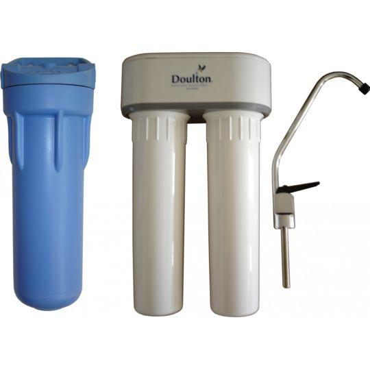 Aqua-techniques - Filtre à eau Doulton Duo Rn + raccord T 3/8