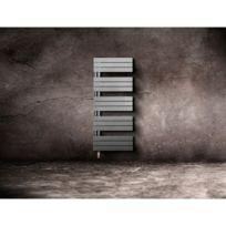 Lvi - Seche Serviette A Fluide Caloporteur Silay Ir - Dimensions : 1250 x 450 x 131 mm - Puissance : 500 W - Couleur : Blanc - Sens : Gauche
