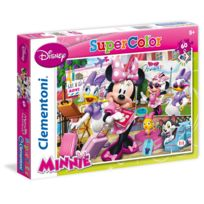 Clementoni - Puzzle 60 pièces : Minnie et Daisy