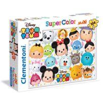 Clementoni - Puzzle 104 pièces Maxi : Disney Tsum Tsum