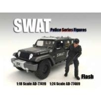 American Diorama - Figurines Swat - Flash - 1/18 - 77419