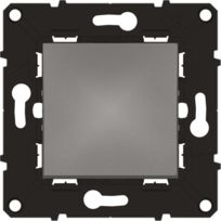 Arnould - Espace évolution Interrupteur ou va et vient 10A avec enjoliveur magnésium a assembler