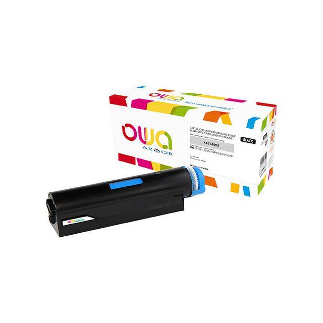 Toner Armor Owa compatible Oki 44574905 noir pour imprimante laser