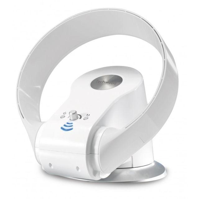 Ventilateur sans pales Oscillation à 90° 26W blanc
