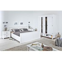 pied de lit 30 cm achat pied de lit 30 cm pas cher rue du commerce. Black Bedroom Furniture Sets. Home Design Ideas