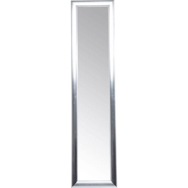 Karedesign Miroir sur pied Modern Living argenté 170x40cm Kare Design