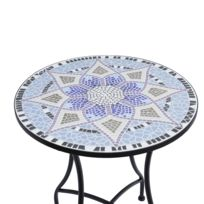Plateau table mosaique - catalogue 2019 - [RueDuCommerce - Carrefour]