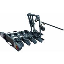 Polaire - Porte-vélo basculant, sur attelage Perruzzo Pure Instinc pour 4 vélos Pvp4-PINA, fixation sur boule d'attelage