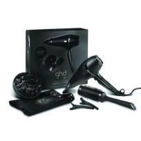 Ghd - Seche Cheveux Air Premium Compris également dans le coffret : le diffuseur air, un embout concentrateur d'air , 2 sépare-mèches , une brosse ronde céramique taille 3 et la pochette en coton