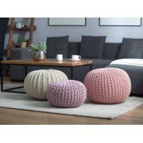 gros pouf achat gros pouf pas cher rue du commerce. Black Bedroom Furniture Sets. Home Design Ideas