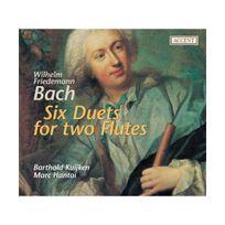 Accent - Wilhelm friedemann bach six duos pour deux flutes
