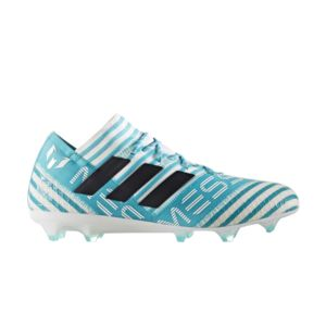 adidas Originals Nemeziz Messi 17 360 Agility FG Blanc-Bleu - Chaussures Football Homme