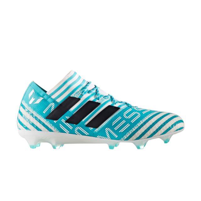Chaussures football Adidas Nemeziz Messi 17.1 Fg Bleublanc
