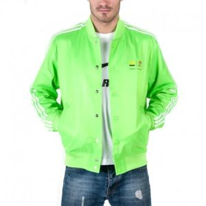 adidas homme vert fluo