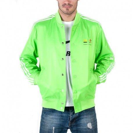 acheter populaire 56414 7b6c9 Adidas originals - Veste Pharrell Williams Vert Homme Adidas ...