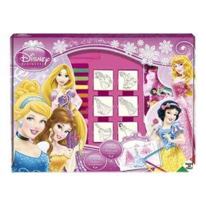 Multiprint disney princesse tampons disney princesses - Peinture princesse disney ...