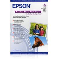 EPSON - Papier Photo Premium Glacé A3 - 255g - 20 Feuilles