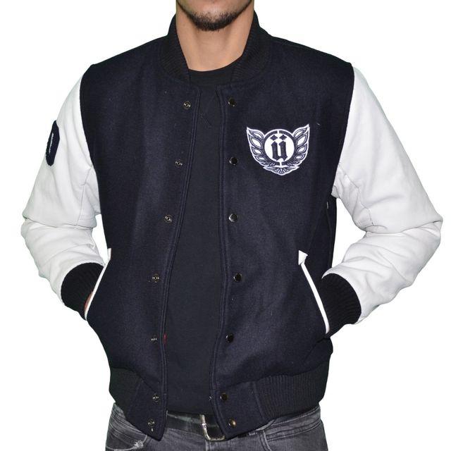 Unkut Bleu Homme Cher Teddy Navy Blouson Pas Osaka Blanc 1qrag1w