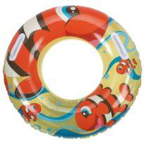 Best Way - Bouée gonflable baignade Bestway Kiddie swim ring orange Orange 80505
