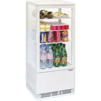 CASSELIN - mini vitrine réfrigérée à poser 78l blanc - cvr78lb