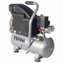 Ferm - Compresseur 1,1 Hp 750 W 8 L Crm1044