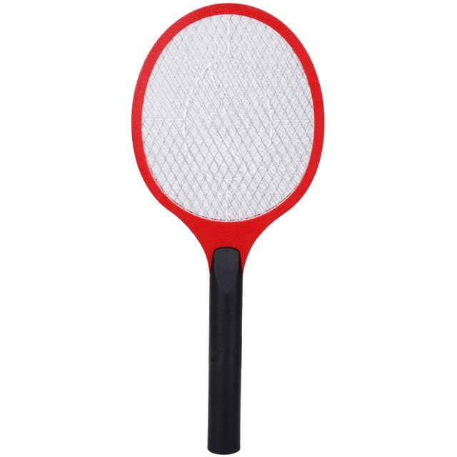 promobo raquette anti moustique tapette a mouche electrique rouge pas cher achat vente. Black Bedroom Furniture Sets. Home Design Ideas