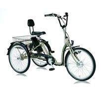 Descheemaeker - Velo Electrique Tricycle Adulte Comfort 7VIT