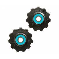 Tacx - Ceramic Jockey Wheels - 11T bleu/noir