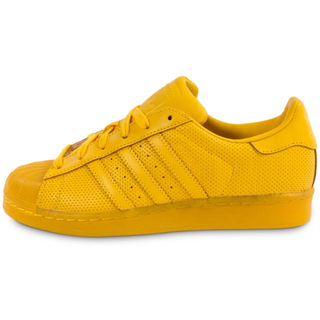 Adidas originals - Superstar Adicolor W Jaune - Baskets/Tennis Femme