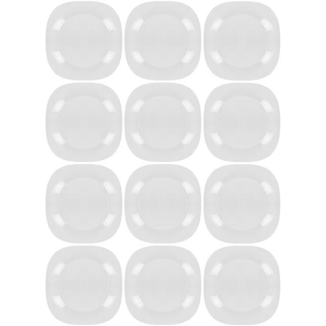 assiette plate verre transparent - achat assiette plate verre