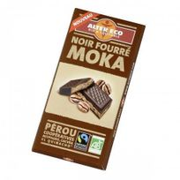 Alter Eco - Chocolat Noir Fourre Moka Bio Bio 85g