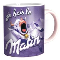 Vices De Forme - Mug Humoristique - Je Hais le Matin