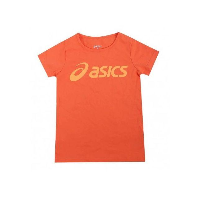 cfdd2f5d17923 Asics - Tee-shirt Fille Sport Orange - pas cher Achat   Vente Tee shirt  homme - RueDuCommerce