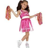 Marque Generique - Costume de pom-pom girl enfant