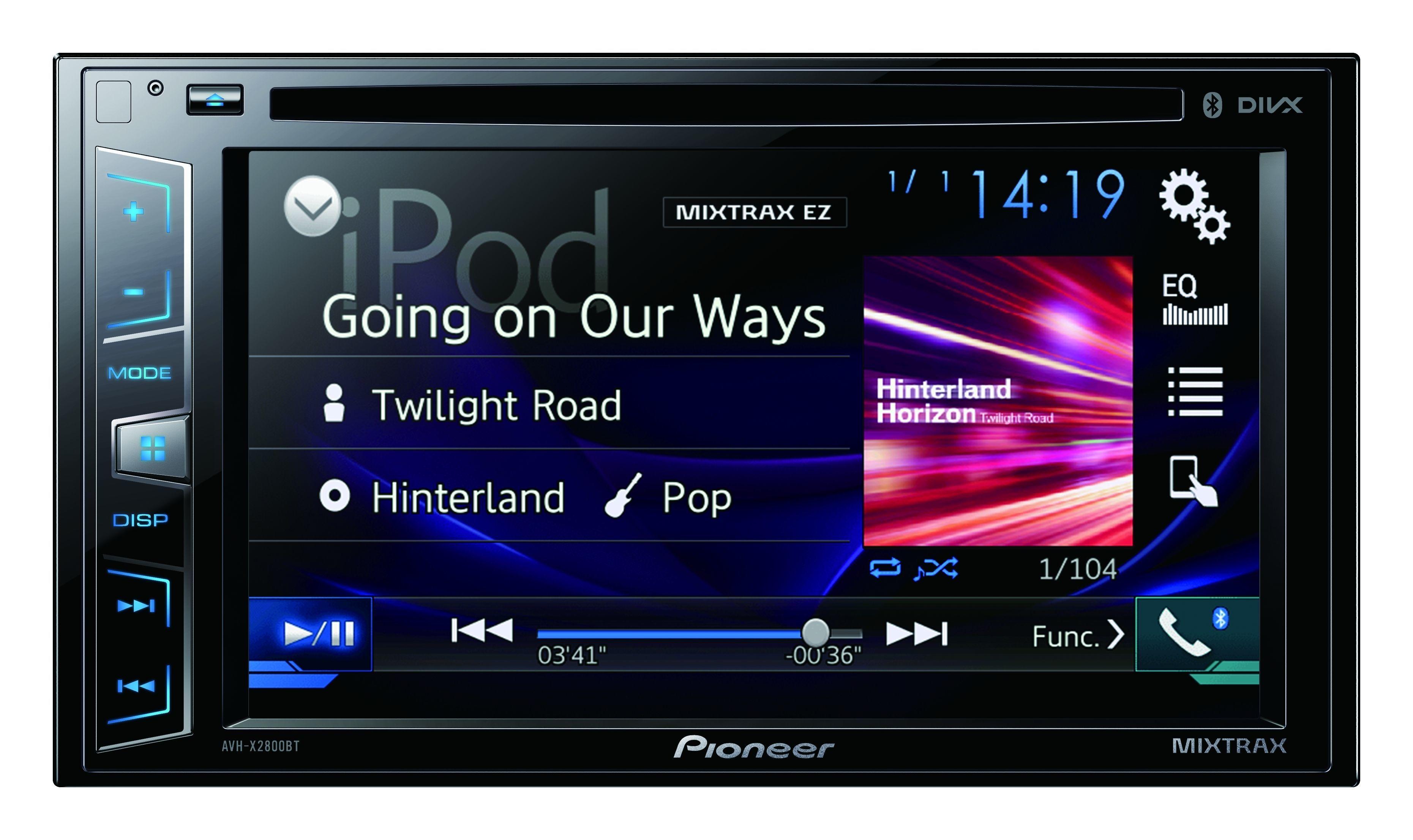 Autoradio vidéo connecté AVH-X2800BT