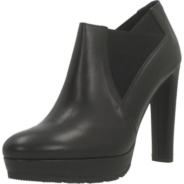 Eliza Ferrari Boots, bottines et bottes femme 916AL, Noir