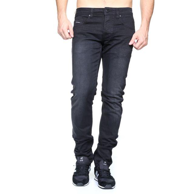 5c800cfa06ed5 Original Ado - A-1763 Noir - pas cher Achat   Vente Jeans homme -  RueDuCommerce