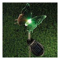 Millumine - Eclairage solaire exterieur Papillon Azuré Led Rgb