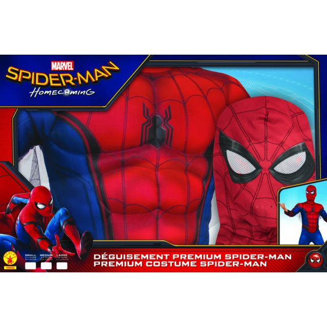 1174d71c160b07 MARVEL - SPIDERMAN - Panoplie Luxe - Taille S - 155032S - pas cher ...