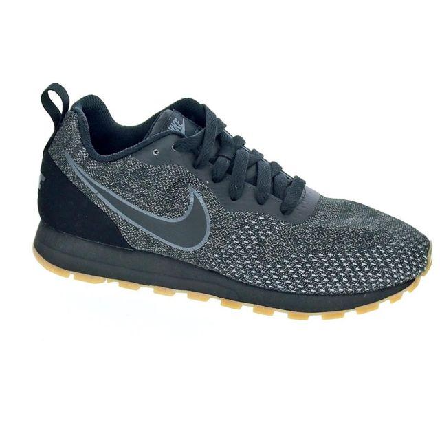 a194bbdb39a0 Nike - Chaussures Femme Baskets basses modele Md Runner 2 Noir - pas cher  Achat   Vente Baskets femme - RueDuCommerce