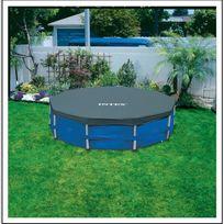Intex - 28032 Bâche de protection pour piscines à armature de 457 cm de diamètre