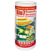 Ecogene - Entretien regards / drains - 3 x 200 gr - Bio 7