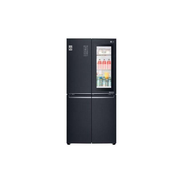 LG Gmq844mckv - Refrigerateur Multi Portes - 458l 315l + 143l - Total No Frost - A+ - L83,5cm X H178,7cm - Carbone