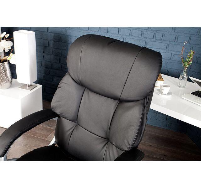 CHLOE DESIGN Chaise de bureau design KENZO - Noir