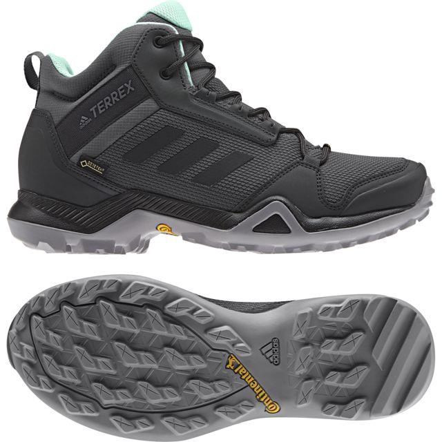 Adidas Chaussures femme Terrex Ax3 Mid Gtx pas cher
