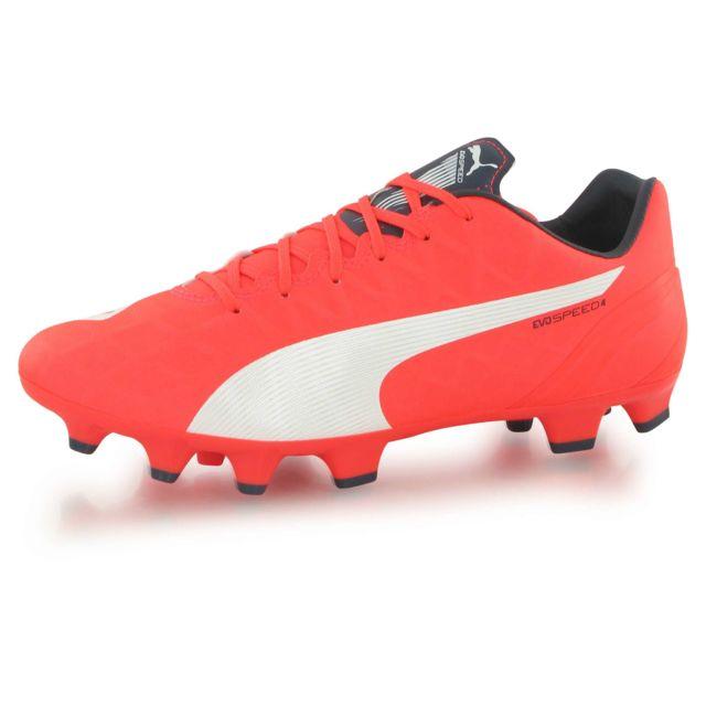 best website e9dfe 85442 Puma - Evospeed 4.4 Fg orange, chaussures de football homme