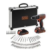 Black & Decker - Perceuse-visseuse 18 V lithium - BDCDC18BAFC
