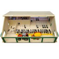 Van Manen - 610495 Kids Globe By Toys World - ÉTABLE En Bois Avec Laiterie À L'ÉCHELLE 1:32