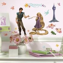 York Wall Coverings - Roommates Disney Tangled Rapunzel Wall Sticker